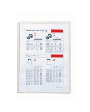 Pack 5 pannelli sherpa grigio x leggii vario durable 5606-10 4005546501338 5606-10_71696