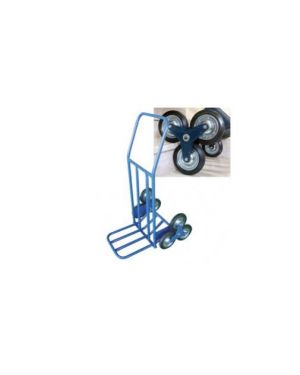Carrello portatutto c/ruote per scale portata max 120kg HT 0101_71783