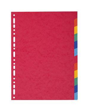 Separatore a4-maxi a 12tacche in cartoncino riciclato 220gr forever 2112E 3130630021124 2112E_71843 by Exacompta