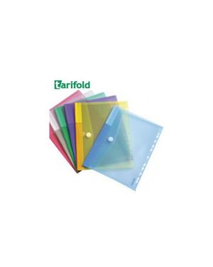 Set 12 buste forate ppl con velcro colori assortiti tarifold B510229_71889 by Tarifold