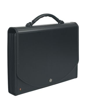 Classificatore a 13 tasche 33x26cm in ppl nero exacase 55934E 3130630559344 55934E_71901 by Exacompta