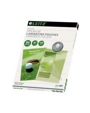 100 pouches ilam a4-216x303mm 80micron leitz 74780000_72012 by Leitz