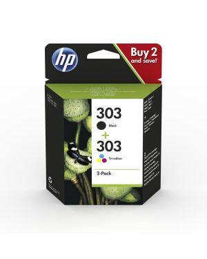 Hp 303 ink cartridge combo 2-pack HP Inc 3YM92AE#301 192545863988 3YM92AE#301