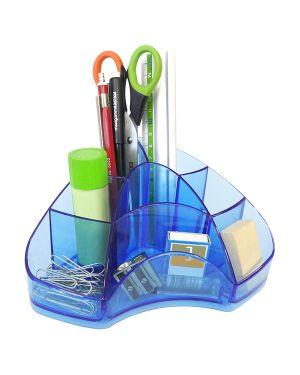 Portapenne multipot classic azzurro trasp. arda TR7121BL 8003438012487 TR7121BL_72055 by Arda