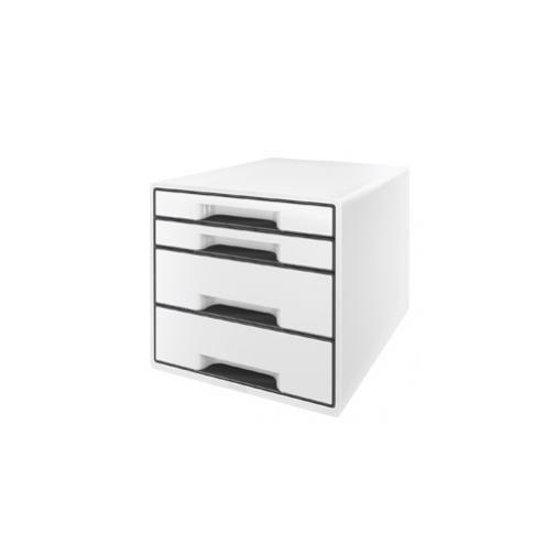 Cassettiera 4 cassetti bianco leitz cube 5252-00-01_72061 by Leitz
