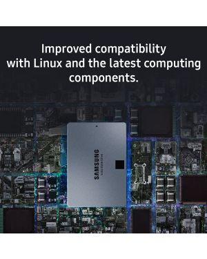 Ssd 4tb 860 qvo 2.5p Samsung MZ-76Q4T0BW 8801643443733 MZ-76Q4T0BW