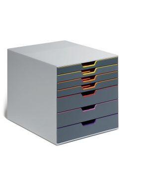 Cassettiera a 7 cassetti varicolor durable 7607-27 4005546701943 7607-27_72069