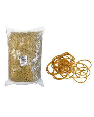 Elastico gomma giallo Ø50 sacco da 1kg markin Y525G050X15 8007047005069 Y525G050X15_72082 by Markin