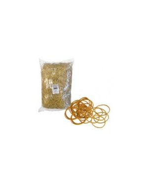 Elastico gomma giallo Ø90 sacco da 1kg markin Y525G090X15_72085 by Markin
