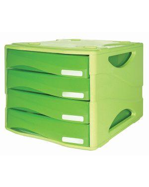 Cassettiera 4 cass. smile arc verde arda TR15P4PARCV_72092