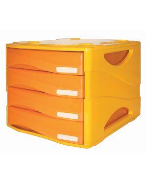 Cassettiera 4 cass. smile arc arancio arda TR15P4PARCAR_72093