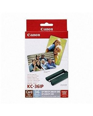 Kit di stampa kc-36ip carta + ink Canon 7739A001 4960999047058 7739A001-1