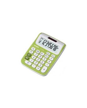 Calcolatrice da tavolo ms 6nc verde 8cifre big display casio MS-6NC-GN_72329