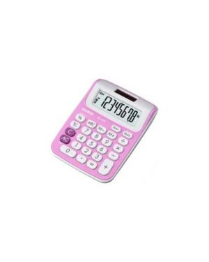 Calcolatrice da tavolo ms 6nc rosa 8cifre big display casio MS-6NC-PK_72330