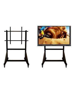 Supporto monitor mobile fino a 100 Wacebo DBL08049 8016677070590 DBL08049