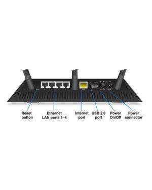 5pt ac1750 wifi router with ext ant Netgear R6400-100PES 606449108699 R6400-100PES