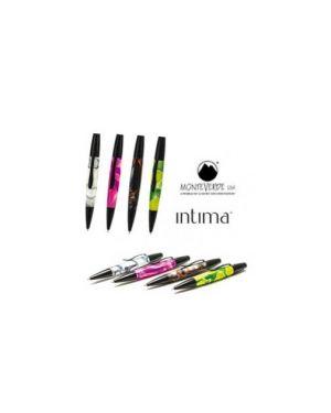Penna sfera intima™neon green punta m monteverde J040125_72939