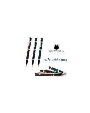 Penna sfera jewelria™resin verde punta m monteverde J059280_72950