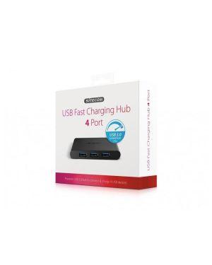 Usb 3.0 fast charging hub 4 port Sitecom CN-085 8716502029679 CN-085-1