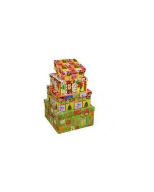 Set 4 scatole cartone assortimento christmas niji 60191_72962
