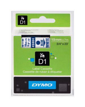 Nastro dymo tipo d1 (19mmx7mt) blu - bianco 458040 S0720840 5411313452144 S0720840