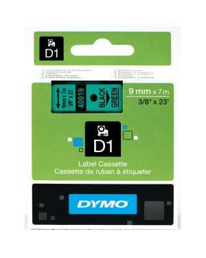 Nastro dymo tipo d1 (19mmx7mt) nero - verde 458090 S0720890 5411313452199 S0720890