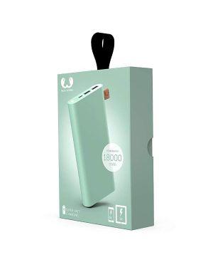 Powerbank 18000 mah usb-c mint Fresh 'n Rebel 2PB18000MM 8718734658313 2PB18000MM