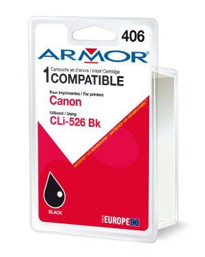 Cartuccia nera per canonpixma ip4850, mg5150, mg5250, mg6150, mg8150 10ml B12561R1 3112539256890 B12561R1_ARMCLI526BK by Esselte