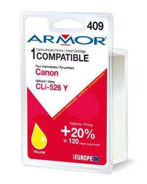 Cartuccia giallo per canon pixma ip4850 mg5150 mg5250 mg6150 mg8150 B12564R1 3112539256920 B12564R1_ARMCLI526Y by Esselte