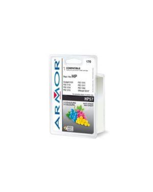 Cartuccia colori per hp n57 photosmart 7760, psc 1300 21ml B20116R1_ARMH57