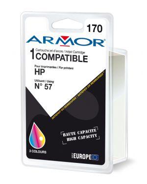 Cartuccia colori per hp n57 photosmart 7760, psc 1300 21ml B20116R1 3112539207557 B20116R1_ARMH57