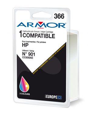 Cartuccia colori per hp officejet j4524, j4535, j4580, j4624, j4660 18ml B20277R1 3112539237769 B20277R1_ARMH901C