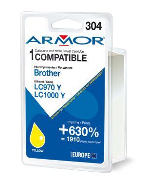 Cartuccia giallo per brother lc 970 -  lc1000 B12381R1 3112539229801 B12381R1_ARMLC1000Y