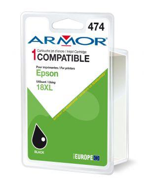 Cartuccia nera per epson expression home xp205, xp30 B12614R1 3112539275662 B12614R1_ARMT1811 by Armor
