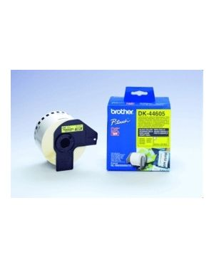 Nastro non adesivo nero BROTHER - P-TOUCH CONSUMABLES DKN55224 4977766665759 DKN55224_BRODKN55224 by Esselte