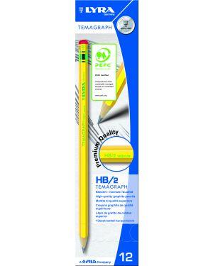 Scatola 12 matita temagraph hb grafite lyra L1140100 4084900103081 L1140100