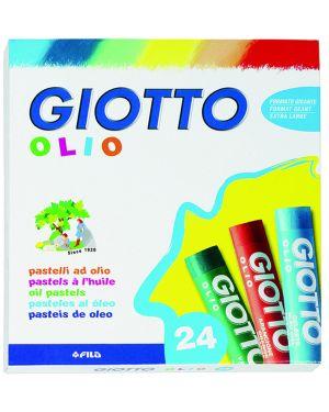 Astuccio 24 pastelli giotto olio 293100 8000825265402 293100 by Giotto