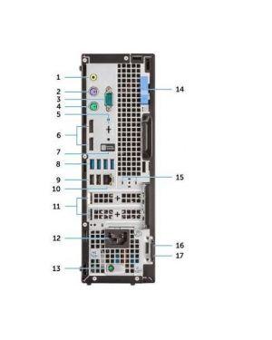 Optiplex 7070 sff Dell Technologies WD3W6 5397184347676 WD3W6