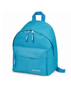 Mini zaino azzurro cm 25 x30 x15 Niji 5531-AZ  5531-AZ