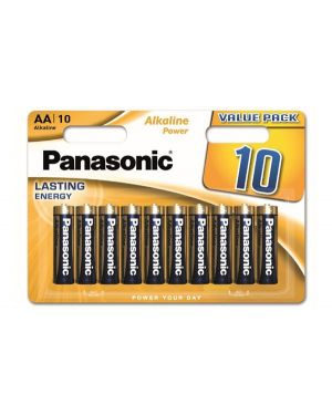 Blister 10 stilo aa alkaline power Panasonic C500025 5410853042167 C500025