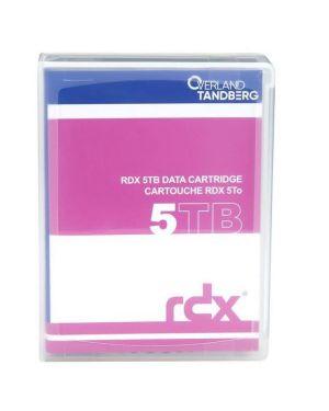 Rdx cartuccia 5 tb cartrdige Tandberg 8862-RDX 7050779088627 8862-RDX