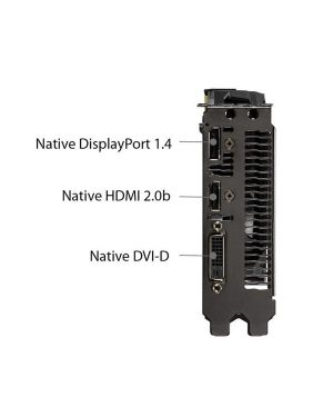 Dual-gtx1650-o4g Asus 90YV0CV2-M0NA00 4718017295734 90YV0CV2-M0NA00-1