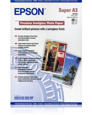 Carta foto semilucida a3+ 20 EPSON - CONSUMER MEDIA C13S041328 10343829930 C13S041328_EPSS041328