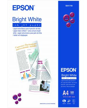 Carta bright white a4 500 fogli EPSON - CONSUMER MEDIA C13S041749 10343604544 C13S041749_EPSS041749