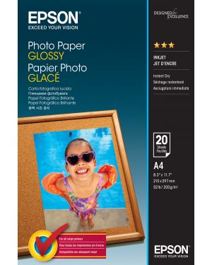 Carta fotografica lucida good 20fg 200gr 210x297mm a4 epson C13S042538 8715946529431 C13S042538_EPSS042538 by No