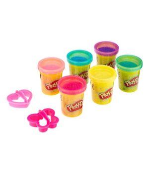 Pd 6 vasetti brillanti Play-Doh A5417EU8 5010993544325 A5417EU8