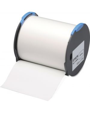 Tape - rc-t1wna 100mm white EPSON - LABELWORKS SUPPLIES S6 C53S633001 8715946514406 C53S633001_EPSS633001 by No