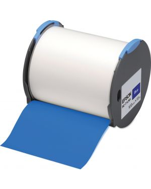 Tape - rc-t1lna 100mm blue EPSON - LABELWORKS SUPPLIES S6 C53S633005 8715946515144 C53S633005_EPSS633005 by No