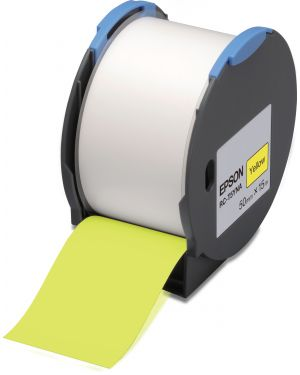 Tape - rc-t5yna 50mm yellow EPSON - LABELWORKS SUPPLIES S6 C53S634003 8715946515205 C53S634003_EPSS634003 by No