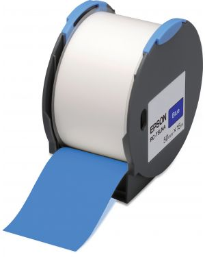 Tape - rc-t5lna 50mm blue EPSON - LABELWORKS SUPPLIES S6 C53S634005 8715946515229 C53S634005_EPSS634005 by Esselte